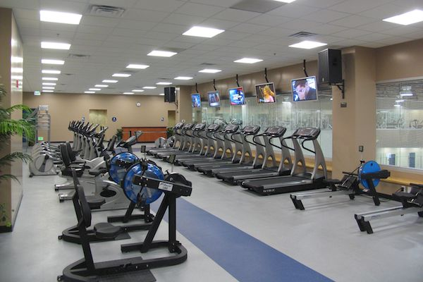 Cardio Workout Room